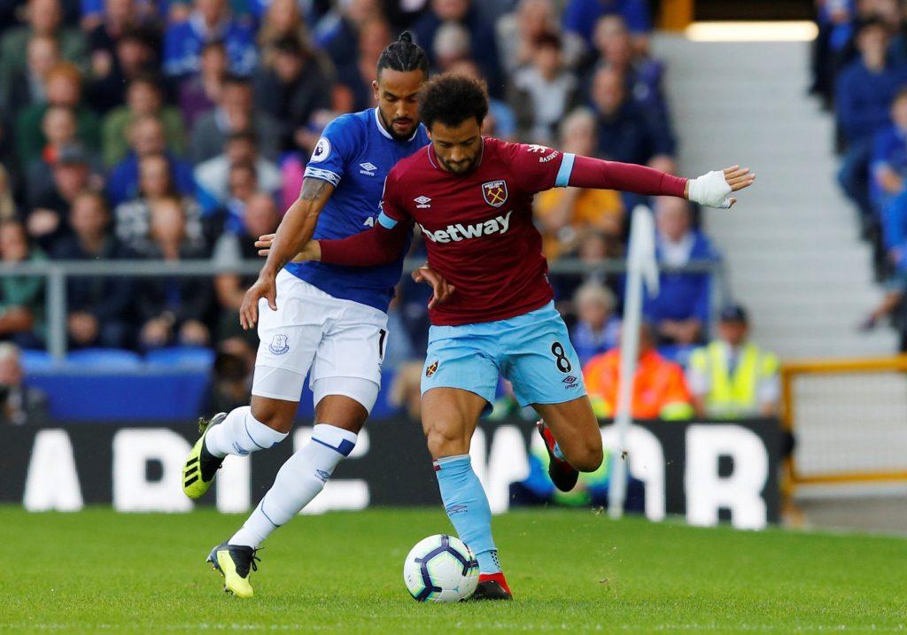 Felipe Anderson v Everton