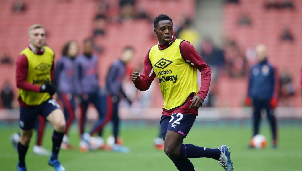 West Ham defender Jeremy Ngakia